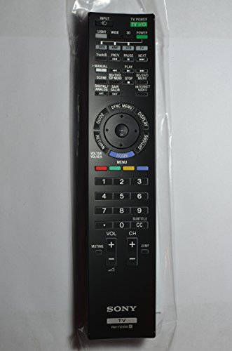 Original Sony Bravia 3D LCD LED Smart TV Remote Control RM-YD058 Original Supplied with models: KDL-46HX825 KDL-55HX825 KDL-55HX827 XBR-46HX925 XBR-55HX925 XBR-55HX927 XBR-65HX925 XBR-65HX927 (3d Sony Tv Bravia)