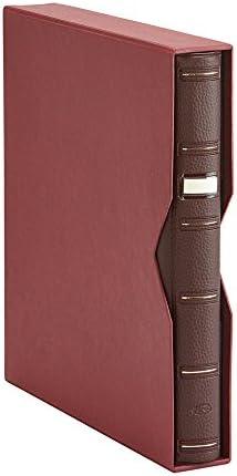 Pardo 100005 - Album sellos símil piel, color burdeos: Amazon.es: Oficina y papelería