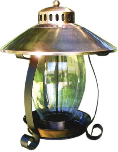 - Woodlink Copper Finish Lantern  Feeder  Model COPLANTERN