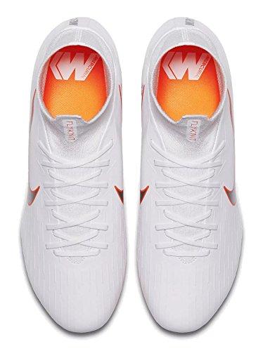 Nike White total Scarpe Bianco O Calcio da Superfly Chrome AG Mercurial 107 VI PRO Uomo rxpSvrqU