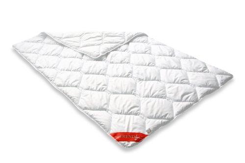 Badenia 03753410140 Bettcomfort Steppbett Trendline Micro kochfest leicht 135 x 200 cm, weiß