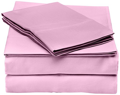 (Robin Wilson Home 800TC Bedsheet Set Bed Sheets, Queen, Dusty Lilac, 4 Piece)
