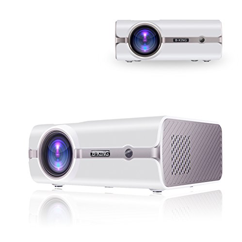 Beamerking WS45 Home Theater Projector 1800 Lumens Multimedia Portable Video Projector 1080P Full HD Support HDMI USB VGA AV for Laptop iPhone Andriod Smartphone PS4 Xbox TV Box