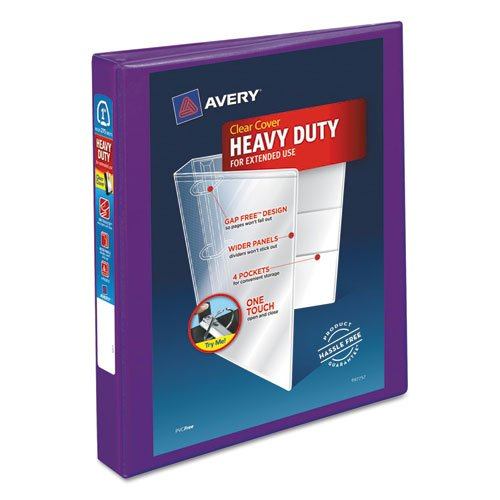 AVERY Heavy-Duty View Binder w/Locking EZD Rings, 1