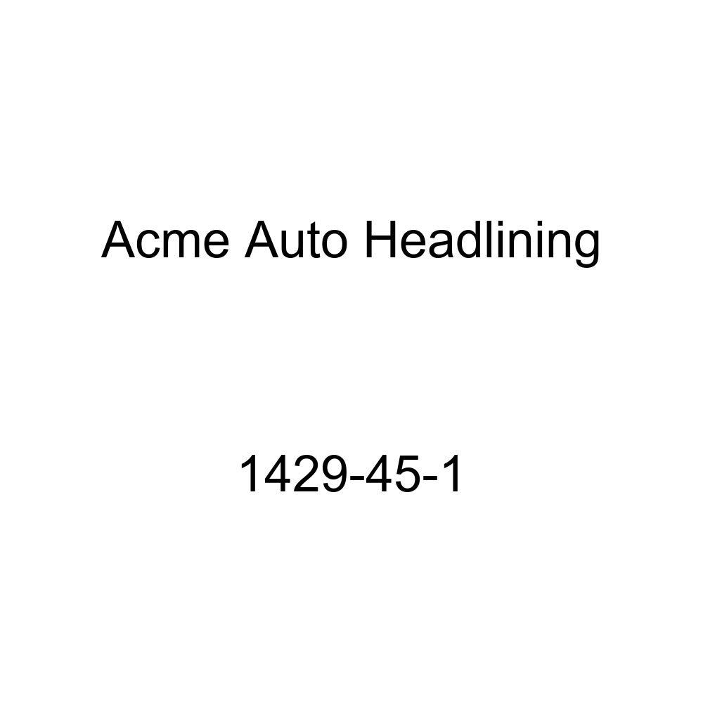 Acme Auto Headlining 1429-45-1 Gray Replacement Headliner 1953 Chevrolet One-Fifty Series 4 Door Sedan 8 Bow