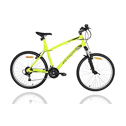 aada8a01a Buy Btwin Rockrider 340 Mountain Bike - Yellow Online at Low Prices ...