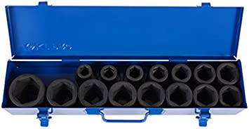 KT Pro Tools C1610M59 3//4 Drive 6-Point Socket King Tony