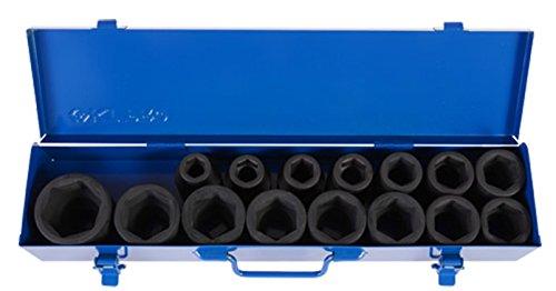KT Pro Tools A6491MP 3/4' Drive Impact Socket Set King Tony