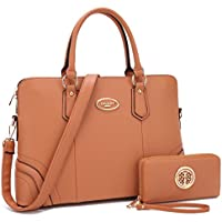 Dasein Women's Satchel Handbag Top Handle Briefcase Laptop Bag