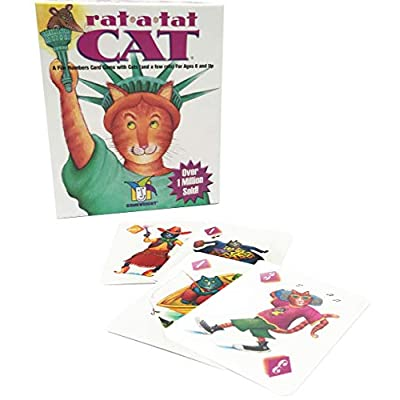 Gamewright Rat-A-Tat-Cat & Sleeping Queens 10th Anniversary Tin Card Game: Toys & Games