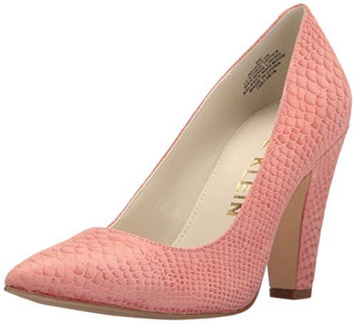 Anne Klein Women's Hollyn Reptile Pump, Pink, 7.5 M US ()