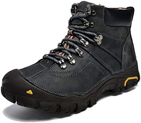 トレッキングブーツ スノーブーツ メンズ 冬靴 防寒靴 防水 ウィンターブーツアウトドア 保暖 裏起毛 滑り止め スニーカー ウォーキングシューズ 雪靴 レースアップ 厚底 登山靴 スノーシューズ ワークブーツ