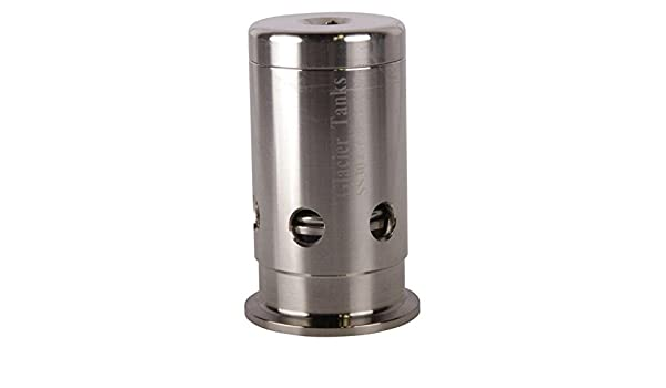 Stainless Steel SS304 Glacier Tanks - 3 Pack Pressure Relief Valve Tri Clamp 2 inch