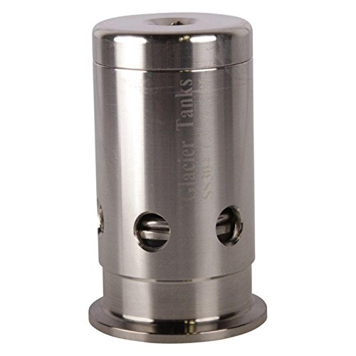 Pressure Relief Valve | Tri Clamp 1 inch - Stainless Steel SS304 - Glacier Tanks (Stainless Steel Pressure Relief Valves)