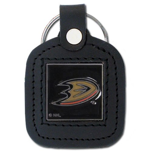 Siskiyou NHL Square Key Chain Anaheim Ducks, Black