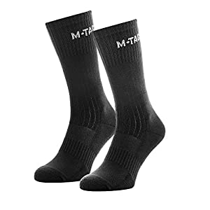 M-Tac Tactical Crew Socks Military Boot Outdoor Socks 2 Pair Pack
