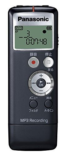 Panasonic IC recorder 2GB Black RR-US330-K