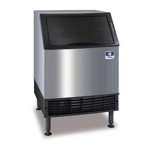 "Manitowoc UYF-0140A NEO 26"" Air Cooled Undercounter Half Dice Cube Ice Machine with 90 lb. Bin - 115V, 137 lb."