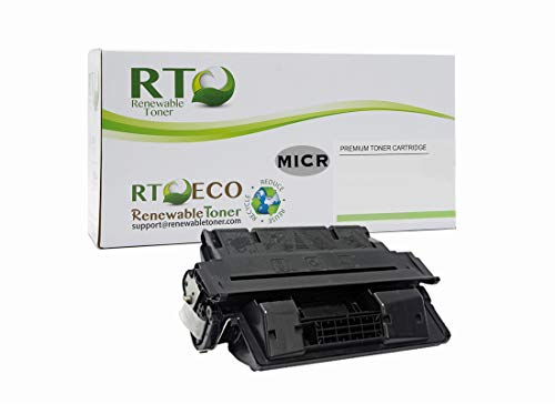 - Renewable Toner Compatible MICR Toner Cartridge Replacement for HP C4127A 27A Laserjet 4000, 4050