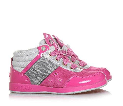 Kelly Lelli Fuschia Enfant Sneakers Lk6506 v1pdq1