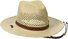 2392aa976eed4 Stetson Men s Stentson Airway Vented Panama Straw Hat