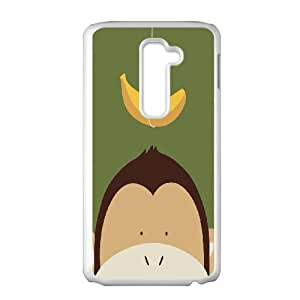 LG G2 Phone Case With Cute Monkey Pattern