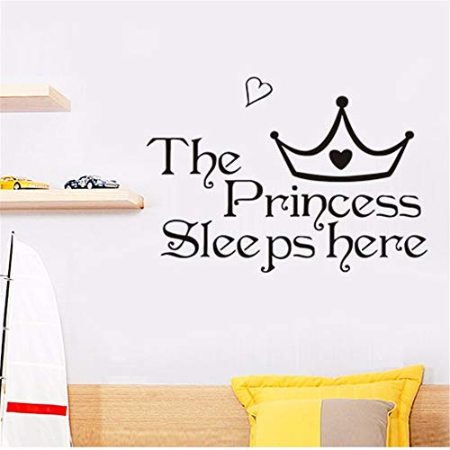 er Girl Children's Room Living Room Decoration PVC Wall Stickers DIY Mural Applique ()