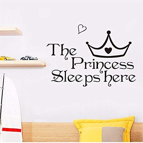 er Girl Children's Room Living Room Decoration PVC Wall Stickers DIY Mural Applique ()