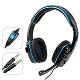 AGPtek® Sades SA-708 Stereo Headset Headphone for PC Notebook Pro Gaming Headset