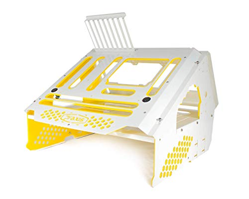 Praxis WetBench - White w/Solid Yellow PMMA Accents