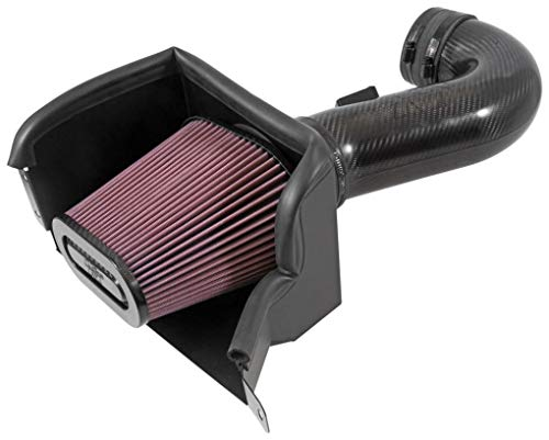 K&N Cold Air Intake Kit: High Performance, Guaranteed to Increase Horsepower: 50-State Legal: 2015-2016 CHEVROLET (Corvette Z06)57-3090