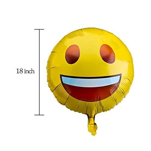 12 Pieces Fun Express Emoji Hanging Swirls Party Decoration