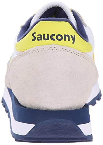 White Yellow Mujer Para Original Jazz Zapatillas Blanco Blanco Saucony xZPBwTn