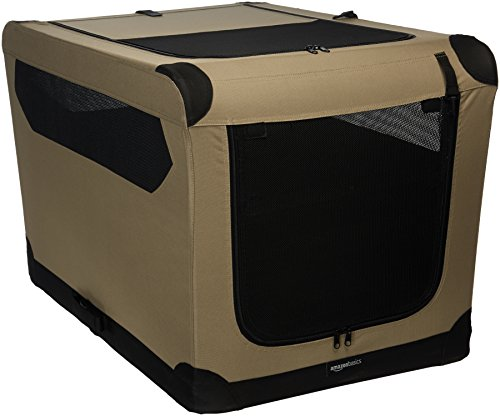 AmazonBasics Portable Folding Travel Kennel product image