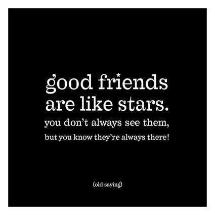 Magnet Good Friends Are Like Stars