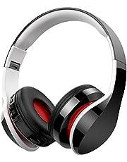 Casque Bluetooth sans Fil, Macrourt Casque Audio Pliable Fonction 4-en-1, Micro Intégrée Bluetooth, Radio, Carte de Mémoire, Hi-FI Audio, Compatible avec iPhone, iPad, Mac, PC