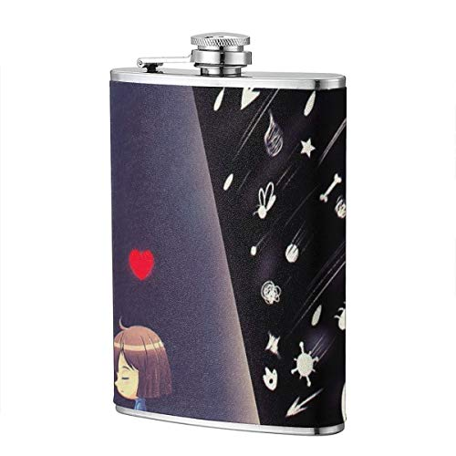 8 Oz Flasks For Women Hip Flask - Liquor Flask Stainless Steel Wine Flask With Undertale Perfect Bachelorette Gift Funny Flasks