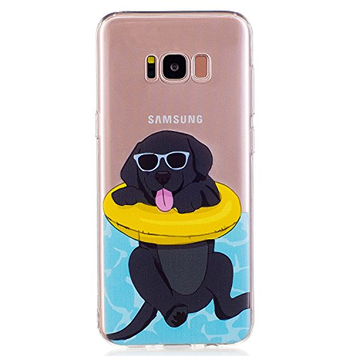 Price comparison product image Beryerbi Samsung Galaxy S8 Plus Case Soft Touch Slim-Fit Flexible TPU Protective Cover (5, Galaxy s8)