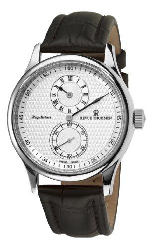 Revue Thommen Men's 16065-2532 Regulator Analog Display Swiss Automatic Brown Watch