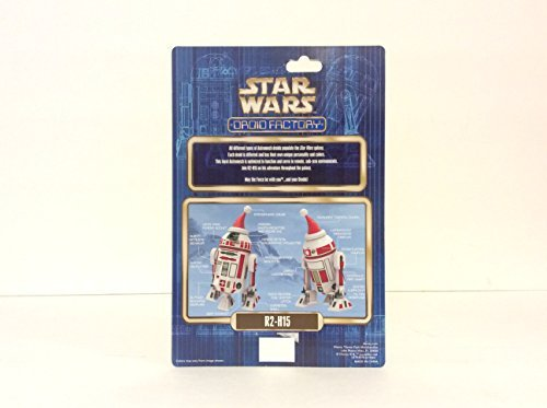 Disney Parks 2015 Star Wars Holiday Christmas Droid Factory R2-H15 by Disney (Park Disneyland Christmas)