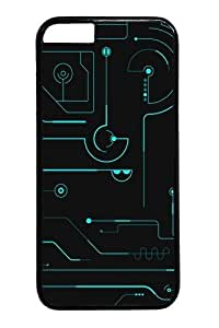 Circuit board Custom Case For HTC One M7 Cover Polycarbonate Black