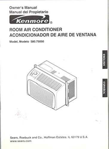 kenmore room air conditioner owner s manual model 580 75050 rh amazon com Kenmore Model 580 Air Conditioner kenmore 580 air conditioner specs