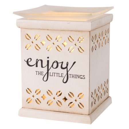ScentSationals Full Size Enjoy the Little Things Wax Warmer