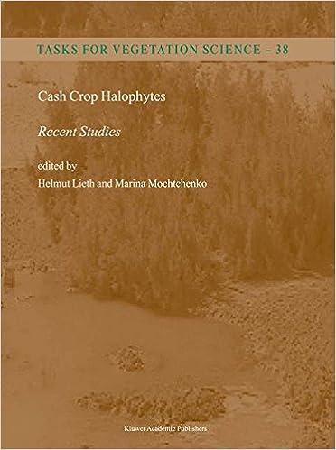 Cash Crop Halophytes: Recent Studies : 10 Years after Al Ain Meeting: Ten Years After Al Ain Meeting (Tasks for Vegetation Science)
