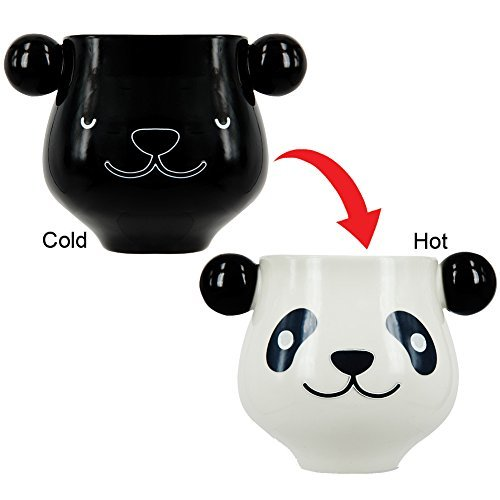 Hot And Cold Color Changing Morphing Panda Mug - Goes From Sleeping To Awake by THUMBS UP