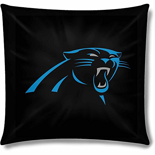 Carolina Decorative Pillow - 1 Piece NFL Panthers Theme Throw Pillow 15