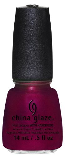 China Glaze Nail Lacquer, Red-Y and Willing, 0.5 Fluid Ounce