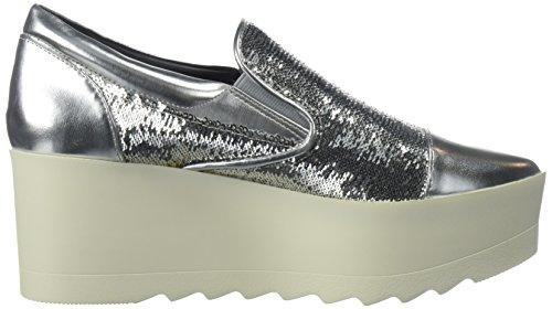 KENDALL + KYLIE Women's Tanya Sneaker, Silver, 8 Medium US by KENDALL + KYLIE (Image #7)