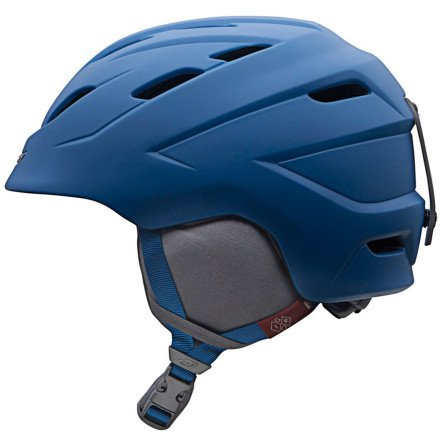 Giro Montane Snow Helmet (Matte Steel Angles, Medium), Outdoor Stuffs