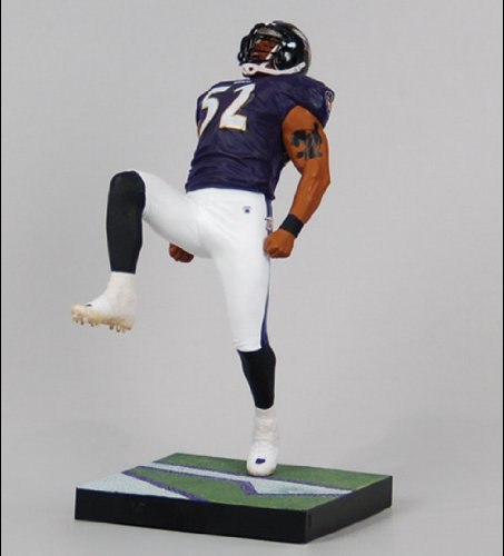 NFL Baltimore Ravens McFarlane 2011 Series 26 Ray Lewis Action Figure (Figure Lewis Ray)